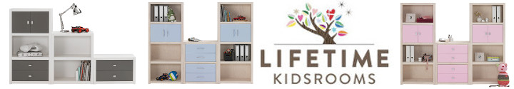 Lifetime Kidsrooms • Regalsystem