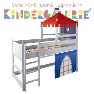 """ANNETTE FRANK Spielbett """"Burg"""" 90x200cm"""