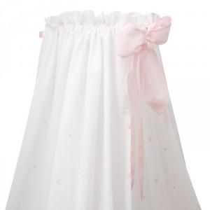 """ANNETTE FRANK Himmelstoff """"Etoile rosa"""" 160cm"""