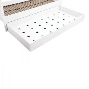 Zubehör Bett • Schublade für 90x200cm-Betten • reinweiß • ANNETTE FRANK