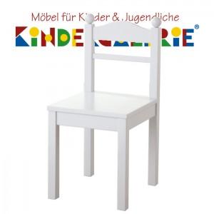 ANNETTE FRANK Kinderstuhl / Spielstuhl in reinweiß