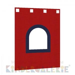debe.deluxe Burg Zubehör • kleiner Bettvorhang in rot