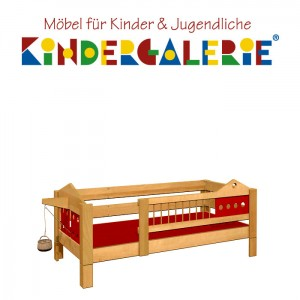 debe.deluxe Villa Kinderbett • diverse Farbkombinationen
