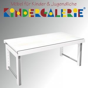 """debe.deluxe """"Ziggy-Schreibtisch 68x120cm"""", in weiß gebeizt oder 13 weiteren Farbtönen"""