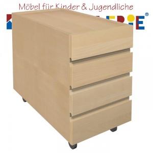 """debe.detail """"Ziggy-Schubladencontainer"""" in Buche natur"""