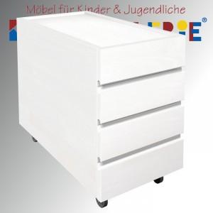 """debe.detail """"Ziggy-Schubladencontainer"""" in weiß gebeizt oder 13 weiteren Farbtönen"""