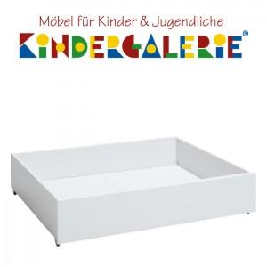LIFETIME Bett Zubehör • Bettkasten klein 99x90cm • weiß lackiert • ORIGINAL