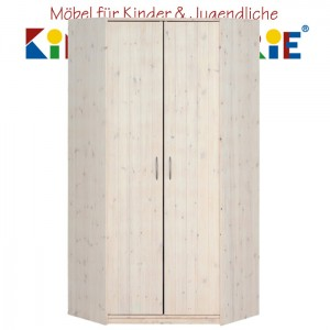 LIFETIME Eck-Schrank • whitewash • ORIGINAL
