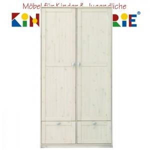 LIFETIME Schrank mit 2 Türen und 2 Laden • whitewash • ORIGINAL