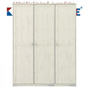 LIFETIME Schrank mit 3 Türen • whitewash • ORIGINAL