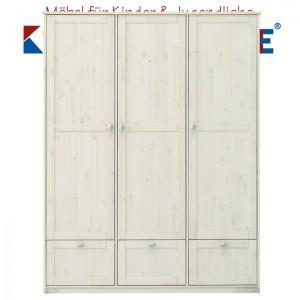 LIFETIME Schrank mit 3 Türen und 3 Laden • whitewash • ORIGINAL