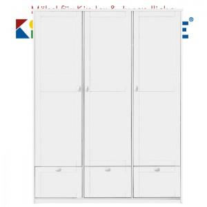 LIFETIME Schrank mit 3 Türen und 3 Laden • weiß lackiert • ORIGINAL