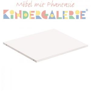 MATTI Einlegeboden klein weiß lackiert für 3-türigen Schrank