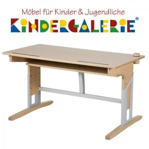 MOIZI 17 Schreibtisch • Buchenholz • höhenverstellbar