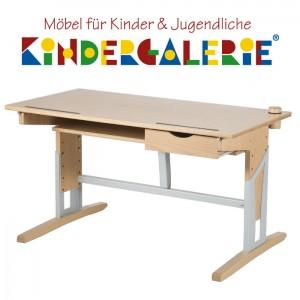 MOIZI Schreibtisch • mit Schublade • höhenverstellbar