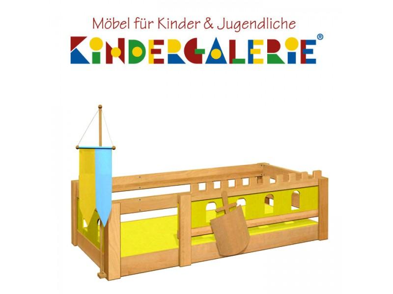 Debe Deluxe Burg Kinderbett Niedrige Version Diverse Farbkombinationen