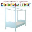 ANNETTE FRANK Einzelbett Candisbogen 90x200cm inkl. Himmelaufsatz