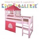 Spielbett Schloss oder Krone • 90x200cm • div. Gestellfarben • ANNETTE FRANK