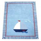 Teppich Segelboot • ANNETTE FRANK