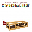 debe.deluxe Pirat Kinderbett niedrige Version