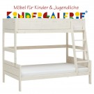 LIFETIME Etagenbett Family 120cm • whitewash • ORIGINAL