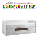 LIFETIME Kojenbett inkl. Regalmodul • whitewash • ORIGINAL