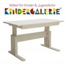 LIFETIME Schreibtisch Breite 140cm mit Schublade • whitewash • ORIGINAL