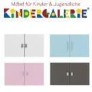 LIFETIME Regal Zubehör • Tür-Set MDF klein, diverse Farben • ORIGINAL