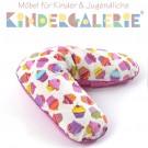 LIFETIME Textil Baby • Cupcake Stillkissen • ORIGINAL
