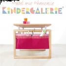 MATTI Schreibtisch-Deko-Stoffverkleidung in rosa