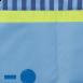 MATTI Schreibtisch-Deko-Stoffverkleidung in blau